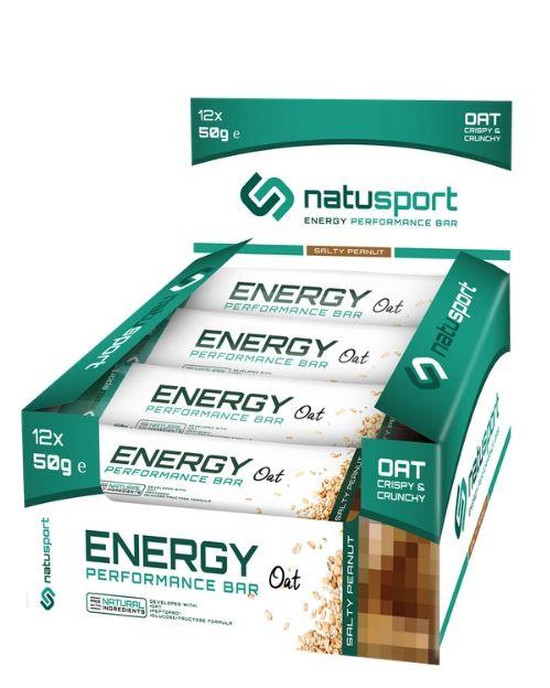 NS032 Natusport Energie performance bar oat salty peanut