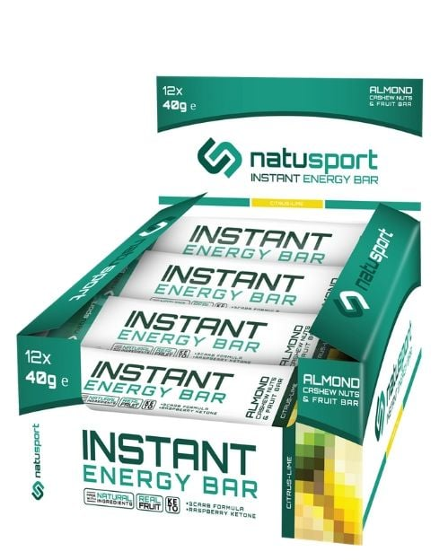 NS033 Natusport Energie performance bar oat CITRUS LIME
