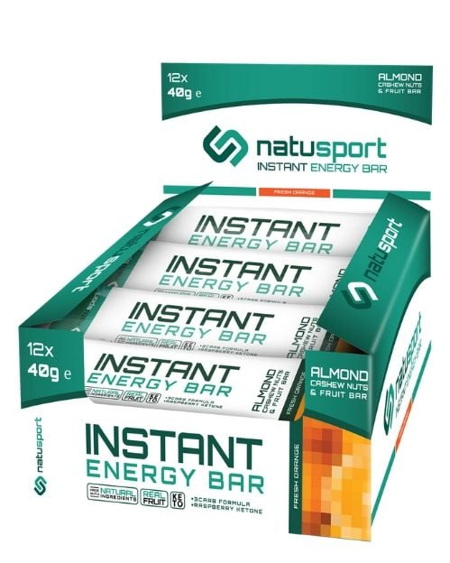 NS034 Natusport Energie performance bar oat fresh orange