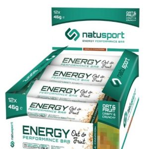 NS035 Natusport Energie performance bar oat fruit apple cinnamon