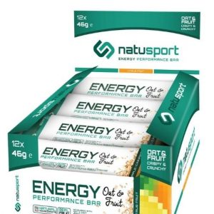 NS036 Natusport Energie performance bar oat citrus fruit
