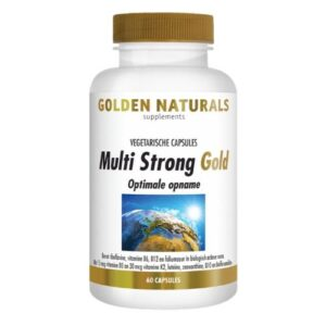 Golden Naturels GN-349 Multi Strong Gold 60 capsules