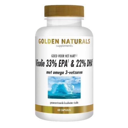 Golden Naturels GN488 visolie 60 capsules