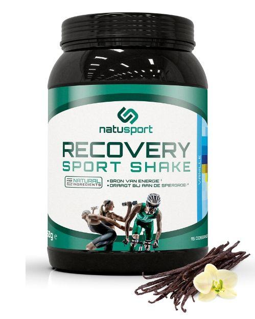 Natusport Recovery Sport Shake Vanille