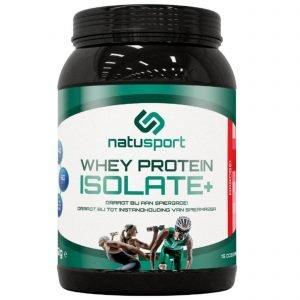 Natusport Whey Protein Isolate aardbei