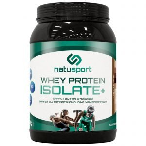 Natusport Whey protein Isolate chocolade
