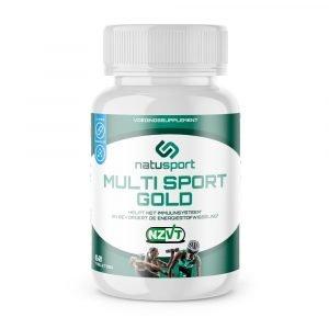 NatuSport MultiSport Gold vooraanzicht van het potje