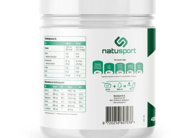 Isotonic Sportdrink lemon 400 gram