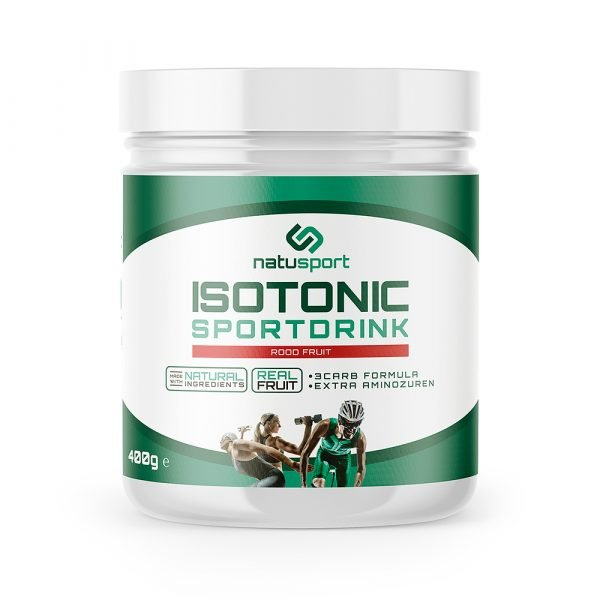 Isotonic Sportdrink Red Fruit 400 gram