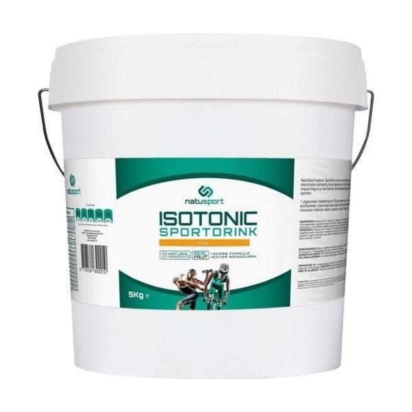 Natusport Isotonic sportdrink 5 kg Orange